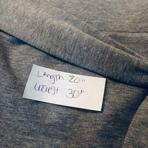 LOFT Skirts - Ann Taylor LOFT Tie Waist Pencil Skirt Gray Size M